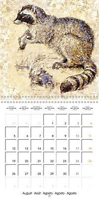 Animals inspired by Frank W. Benson (Wall Calendar 2019 300 × 300 mm Square) - Produktdetailbild 8