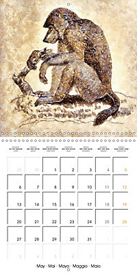 Animals inspired by Frank W. Benson (Wall Calendar 2019 300 × 300 mm Square) - Produktdetailbild 5