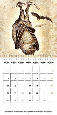 Animals inspired by Frank W. Benson (Wall Calendar 2019 300 × 300 mm Square) - Produktdetailbild 11