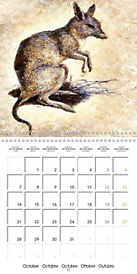 Animals inspired by Frank W. Benson (Wall Calendar 2019 300 × 300 mm Square) - Produktdetailbild 10