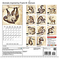 Animals inspired by Frank W. Benson (Wall Calendar 2019 300 × 300 mm Square) - Produktdetailbild 13