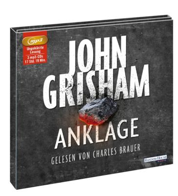 Anklage, 3 MP3-CDs, John Grisham