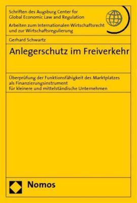 Anlegerschutz im Freiverkehr, Gerhard Schwartz