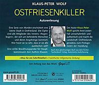 Ann Kathrin Klaasen Band 1: Ostfriesenkiller (3 Audio-CDs) - Produktdetailbild 1