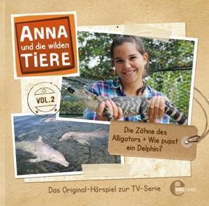 Anna und die wilden Tiere - Die Zähne des Alligators, 1 Audio-CD, Anna Und Die Wilden Tiere