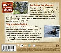 Anna und die wilden Tiere - Die Zähne des Alligators, 1 Audio-CD - Produktdetailbild 1