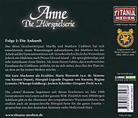 Anne auf Green Gables - Die Ankunft, Audio-CD - Produktdetailbild 1