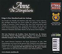 Anne auf Green Gables - Ein Abschied und ein Anfang, Audio-CD - Produktdetailbild 1