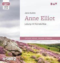 Anne Elliot oder Die Kunst der Überredung, 1 MP3-CD, Jane Austen