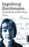 Anrufung des Großen Bären - Ingeborg Bachmann pdf epub