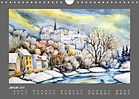 Ansichten aus Mitteldeutschland (Wandkalender 2019 DIN A4 quer) - Produktdetailbild 1