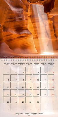 ANTELOPE CANYON Fascinating Views (Wall Calendar 2019 300 × 300 mm Square) - Produktdetailbild 5