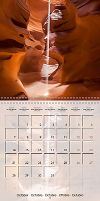 ANTELOPE CANYON Fascinating Views (Wall Calendar 2019 300 × 300 mm Square) - Produktdetailbild 10