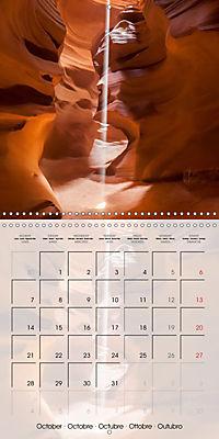 ANTELOPE CANYON Fascinating Views (Wall Calendar 2019 300 × 300 mm Square) - Produktdetailbild 10