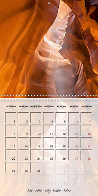 ANTELOPE CANYON Fascinating Views (Wall Calendar 2019 300 × 300 mm Square) - Produktdetailbild 7