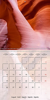 ANTELOPE CANYON Fascinating Views (Wall Calendar 2019 300 × 300 mm Square) - Produktdetailbild 8