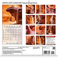 ANTELOPE CANYON Fascinating Views (Wall Calendar 2019 300 × 300 mm Square) - Produktdetailbild 13