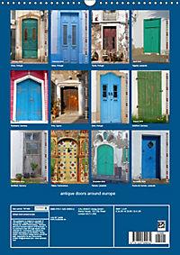 antique doors around europe (Wall Calendar 2019 DIN A3 Portrait) - Produktdetailbild 13