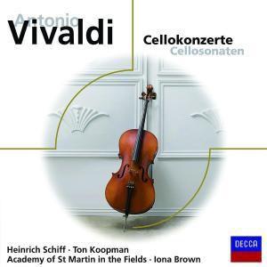 Antonio Vivaldi: Cellokonzerte, Schiff, Brown, Amf