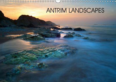 Antrim Landscapes (Wall Calendar 2019 DIN A3 Landscape), Terry Hewlett