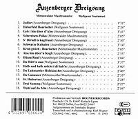 Anzenberger Dreigsang, Mittenwalder Maultrommler, Wallgauer Soatnmusi - Produktdetailbild 1