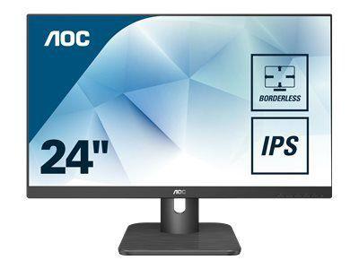 AOC 24E1Q 60,96cm 24Zoll display 3-sided frameless design of the 24E1Q allows seamless multi-monitor setups accurate