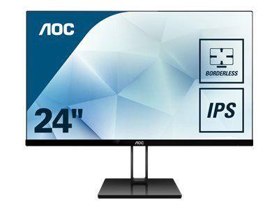 AOC 24V2Q 60,96cm 24Zoll Display Basic B2B HDMI+DP+VGA Speakers