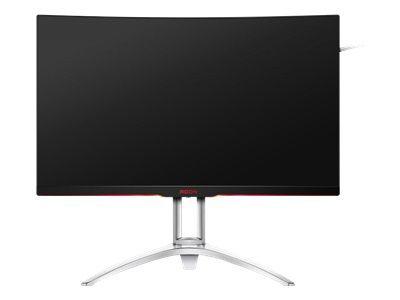 AOC AG322QCX 80cm 31,5Zoll Curved TFT 16:9 300cd/m2 50M:1 4ms 2560x1440 HDMI DP schwarz silber