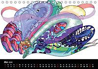 app art calendar 2019 (Tischkalender 2019 DIN A5 quer) - Produktdetailbild 5
