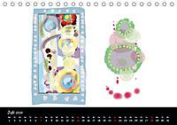 app art calendar 2019 (Tischkalender 2019 DIN A5 quer) - Produktdetailbild 7