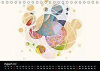 app art calendar 2019 (Tischkalender 2019 DIN A5 quer) - Produktdetailbild 8
