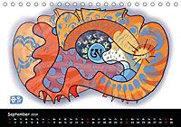 app art calendar 2019 (Tischkalender 2019 DIN A5 quer) - Produktdetailbild 9