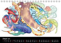 app art calendar 2019 (Tischkalender 2019 DIN A5 quer) - Produktdetailbild 1