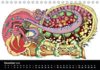 app art calendar 2019 (Tischkalender 2019 DIN A5 quer) - Produktdetailbild 11