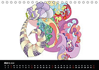 app art calendar 2019 (Tischkalender 2019 DIN A5 quer) - Produktdetailbild 3