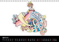 app art calendar 2019 (Wandkalender 2019 DIN A4 quer) - Produktdetailbild 4