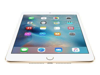 APPLE iPad mini 4 - 128GB Cell Gold A8 Chip 64Bit M8 Coproz. 20,1cm 7,9Zoll MT 2048x1536 Pixel 326 ppi WLAN AC 2,4 u. 5GHz