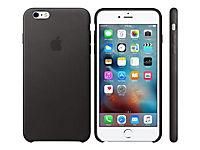 APPLE iPhone 6s Plus Leather Case Black - Produktdetailbild 1