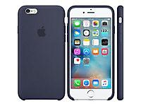 APPLE iPhone 6s Silicone Case Midnight Blue - Produktdetailbild 3