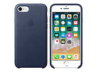 APPLE iPhone 8 / 7 Leather Case - Mitternachtsblau - Produktdetailbild 5