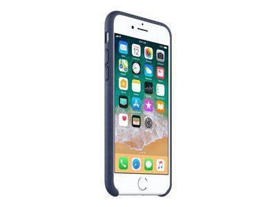 APPLE iPhone 8 / 7 Leather Case - Mitternachtsblau