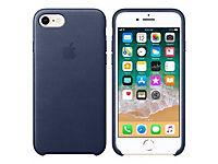 APPLE iPhone 8 / 7 Leather Case - Mitternachtsblau - Produktdetailbild 1