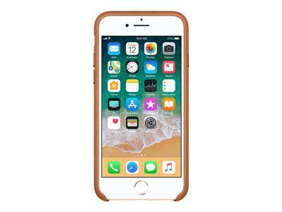 APPLE iPhone 8 / 7 Leather Case - Sattelbraun