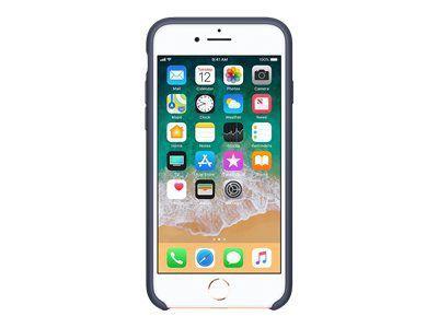 APPLE iPhone 8 / 7 Silikon Tasche Mitternachtsblau