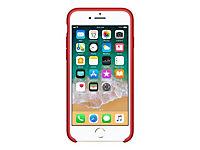 APPLE iPhone 8 / 7 Silikon Tasche - Rot - Produktdetailbild 3