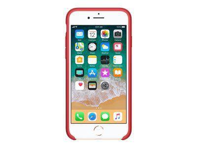 APPLE iPhone 8 / 7 Silikon Tasche - Rot