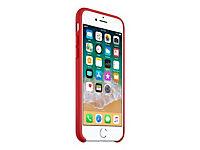 APPLE iPhone 8 / 7 Silikon Tasche - Rot - Produktdetailbild 4