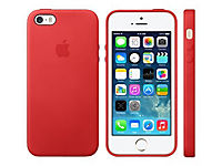 APPLE iPhone 8 Plus / 7 Plus Leather Case - (PRODUCT)RED - Produktdetailbild 2