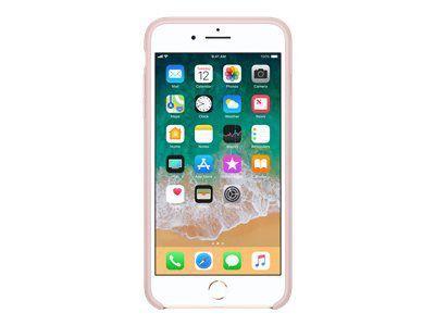 APPLE iPhone 8 Plus / 7 Plus Silikon Tasche - Pink Sand