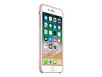 APPLE iPhone 8 Plus / 7 Plus Silikon Tasche - Pink Sand - Produktdetailbild 3
